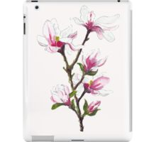 Magnolia blossoms iPad Case/Skin