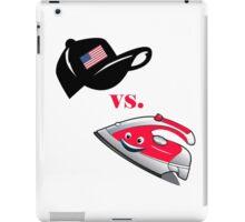 American Cap vs An Iron Man! iPad Case/Skin