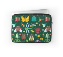 Insects on green Laptop Sleeve