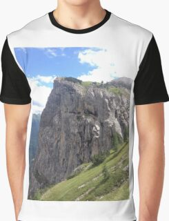 Verdant Cliff Graphic T-Shirt