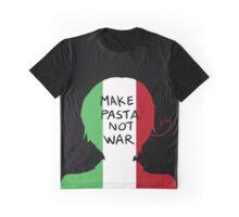 Make Pasta Not War Graphic T-Shirt