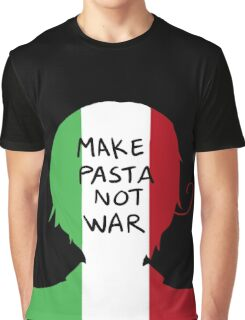 Make Pasta Not War Graphic T-Shirt