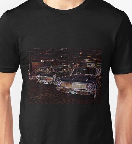 Neon Cars Unisex T-Shirt