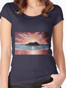 Tofino Drive-by Women's Fitted Scoop T-Shirt