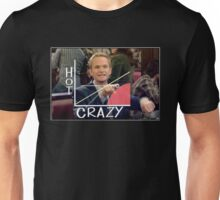 Hot // Crazy Unisex T-Shirt