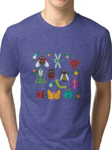 Insects Tri-blend T-Shirt