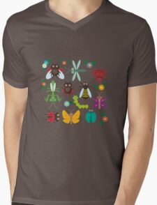 Insects Mens V-Neck T-Shirt