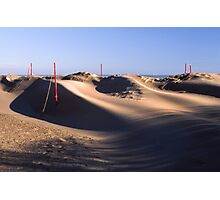 Sand waves Photographic Print