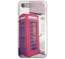 Red Box iPhone Case/Skin