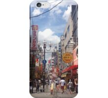 Osaka Street iPhone Case/Skin