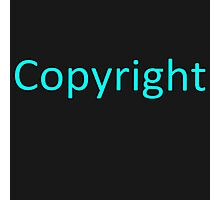 Copyright 2 Photographic Print
