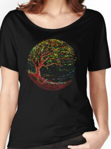 impressionist tree Women's Relaxed Fit T-Shirt