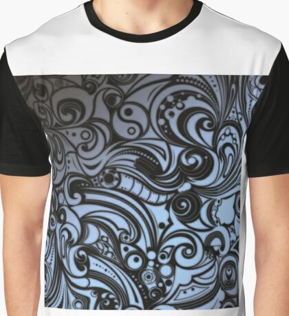 Trip Grey Scale Graphic T-Shirt
