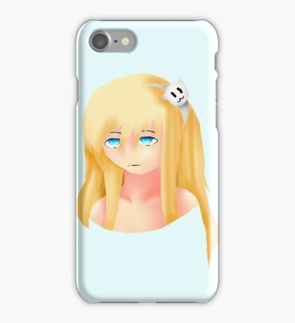 some bored girl iPhone Case/Skin