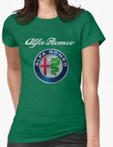 ALFA ROMEO SILVER Womens Fitted T-Shirt