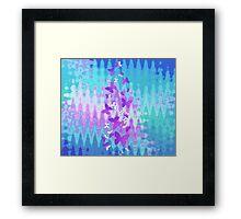 butterfly shimmer Framed Print