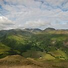 Brotherswater and Patterdale Common from Dubhow Crag by eddiej