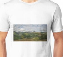 Brotherswater and Patterdale Common from Dubhow Crag Unisex T-Shirt