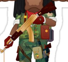 Buffalo Soldier Sticker
