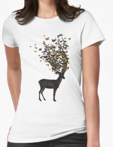 Wild Nature Womens Fitted T-Shirt