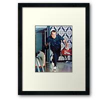 Nixon Bowling Framed Print