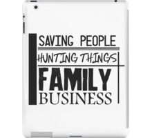 Family Business. iPad Case/Skin