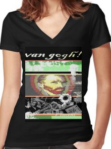 vincent Women's Fitted V-Neck T-Shirt