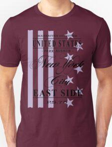 New York City - USA Vintage Flag T-Shirt
