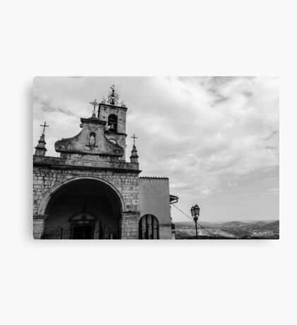 Pretoro - St. Nicholas Church Canvas Print