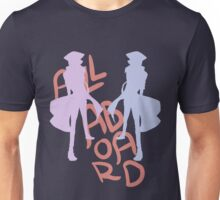 ALL ABORD THE DISCO TRAIN Unisex T-Shirt