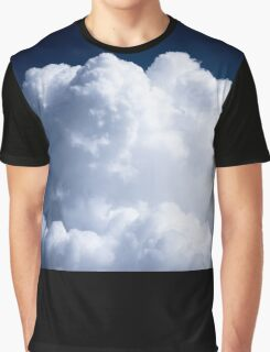 A Whipped Cream Cloud floating Graphic T-Shirt