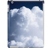 A Whipped Cream Cloud floating iPad Case/Skin