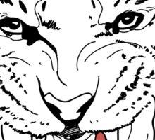 Tiger on a Hunt Sticker