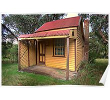 Pioneers Cottage - Daylesford Poster