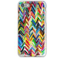 colorfull chevrons iPhone Case/Skin