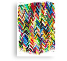 colorfull chevrons Canvas Print