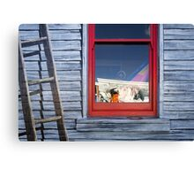 Face in the window - Tasmania Canvas Print