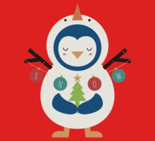 Snow Penguin Baby Tee