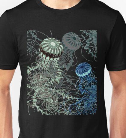 Chrysaora hysoscella (Dark) Unisex T-Shirt