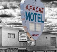 Route 66 - Apache Motel Sticker