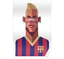 Neymar 1 Poster