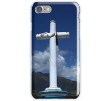 Cross and Mount Cotacachi iPhone Case/Skin