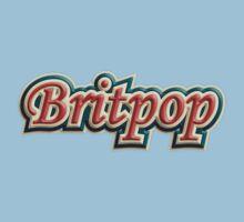 Cool Britpop Kids Tee