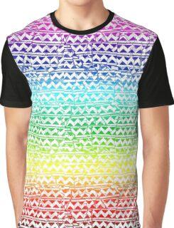 mosaic stripes Graphic T-Shirt
