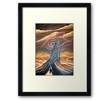 Roland coming to the Dark Tower Framed Print