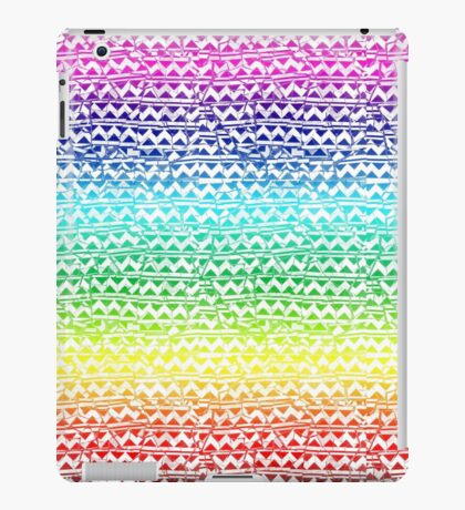 mosaic stripes iPad Case/Skin