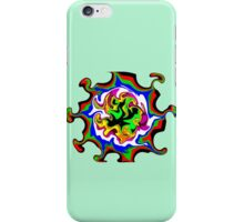 Dizzy Swirly Fractal Abstract iPhone Case/Skin