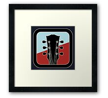 Wonderful Electric Guitar Sign Framed Print