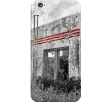Possum Kingdom Red Stripes iPhone Case/Skin