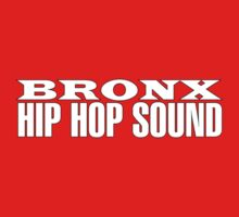 Bronx Hip Hop Sound (White) Kids Tee